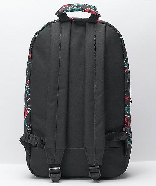 Empyre Brenda Neon Roses Black Backpack