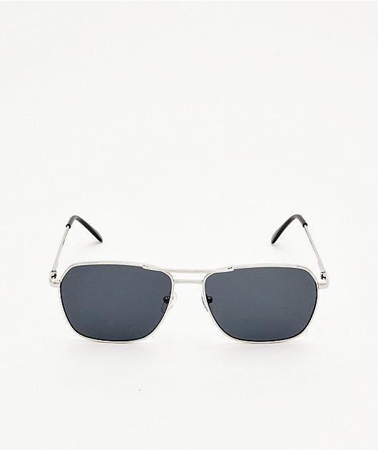 Empyre Carlo Silver & Black Sunglasses