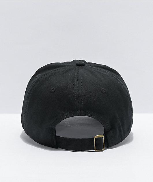 Empyre Cheers Mushroom Black Strapback Hat