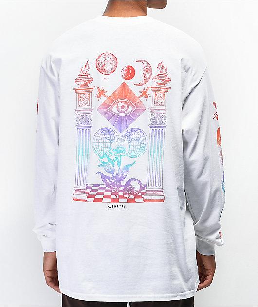 Empyre Collide camiseta blanca de manga larga