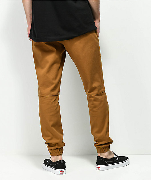 Empyre Creager joggers marrones con cintura elástica