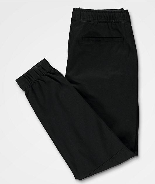 Empyre Creager joggers negros con cintura elástica