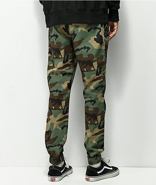 Empyre Creager pantalones joggers de camuflaje con pretina elástica