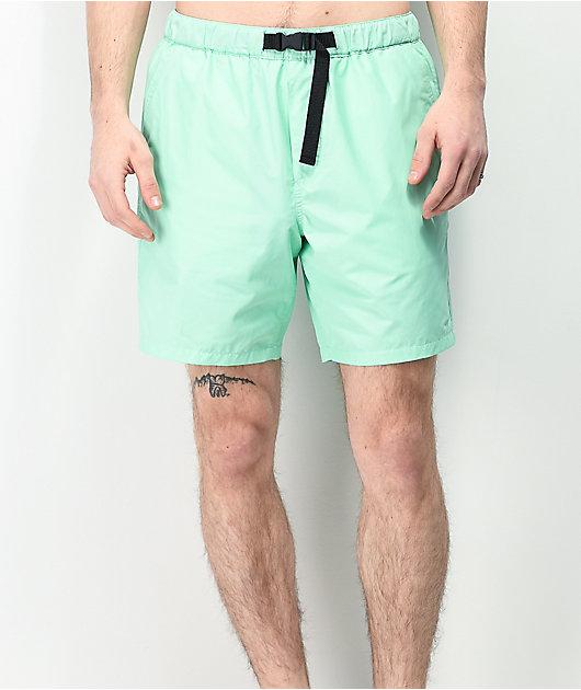 Empyre Dixon Mint Elastic Waist Shorts