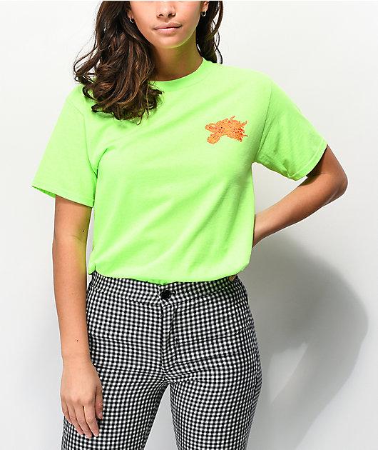 Empyre Dragon Noodles Neon Green T-Shirt