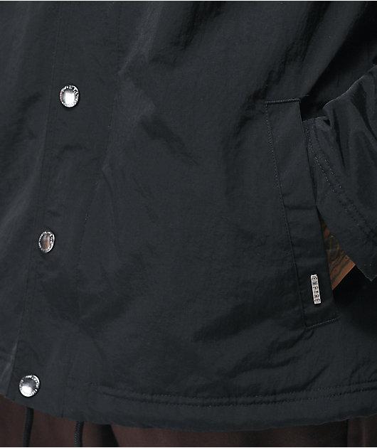 Empyre Elliot Sherpa Black Coaches Jacket