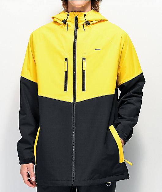 Empyre Far East Black & Yellow 10K Snowboard Jacket