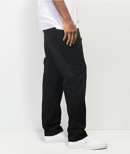 Empyre Franc Black Elastic Waist Pants