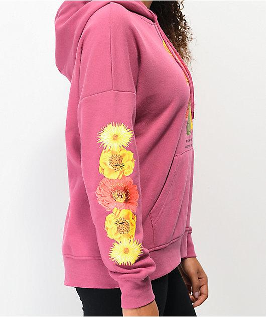 Empyre Fredia Feeling Prickly sudadera con capucha rosa