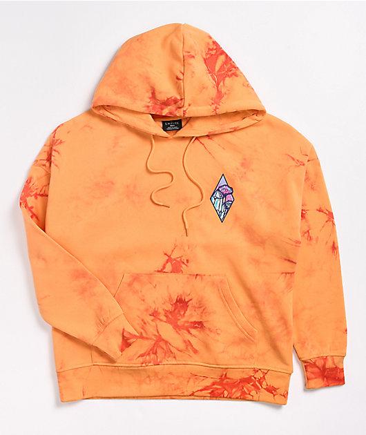 Empyre Fredia Orange Tie Dye Hoodie