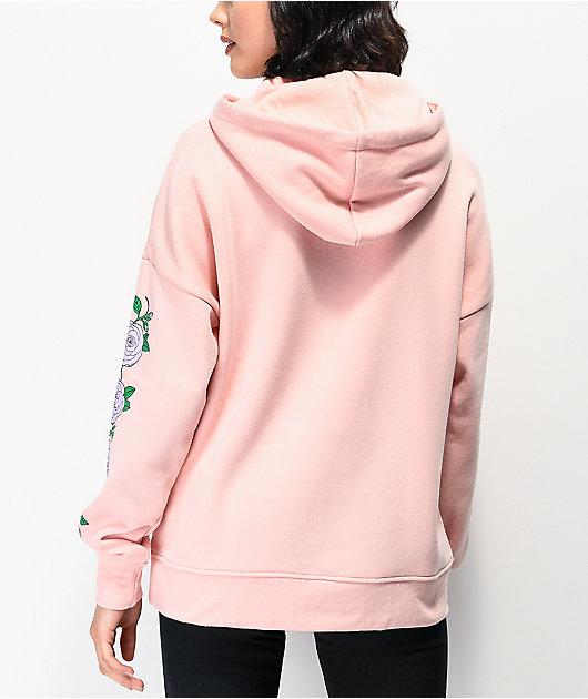 Empyre Fredia Rose Light Pink & Lavender Hoodie