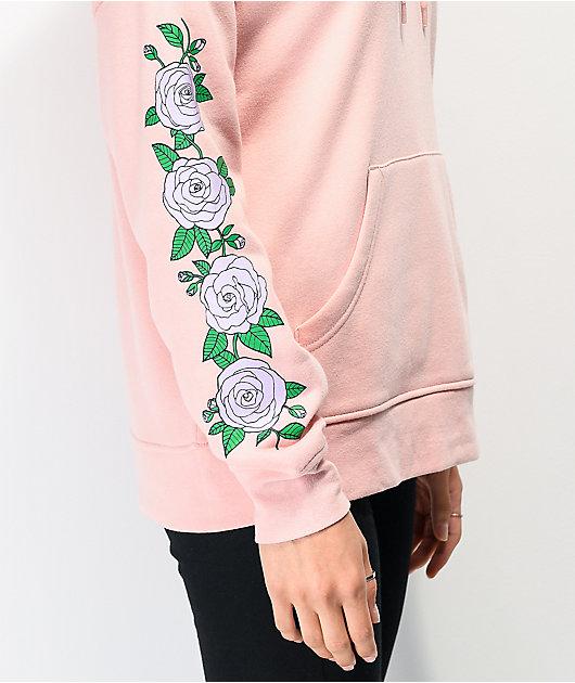 Empyre Fredia Rose sudadera con capucha rosa claro y lavanda