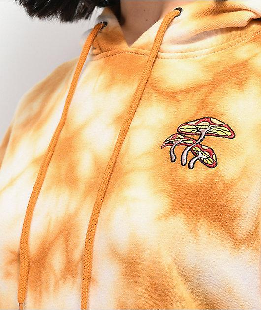 Empyre Fredia Trip Orange Tie Dye Hoodie