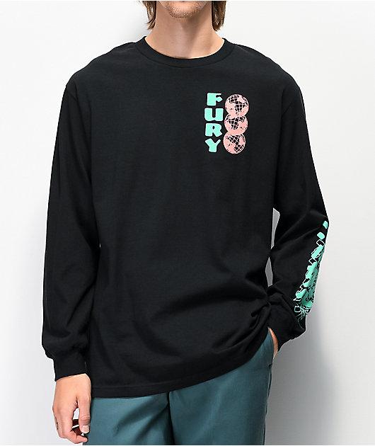 Empyre Fury Black Long Sleeve T-Shirt