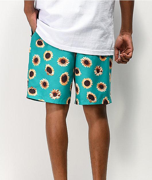 Empyre Grom shorts de baño verdes