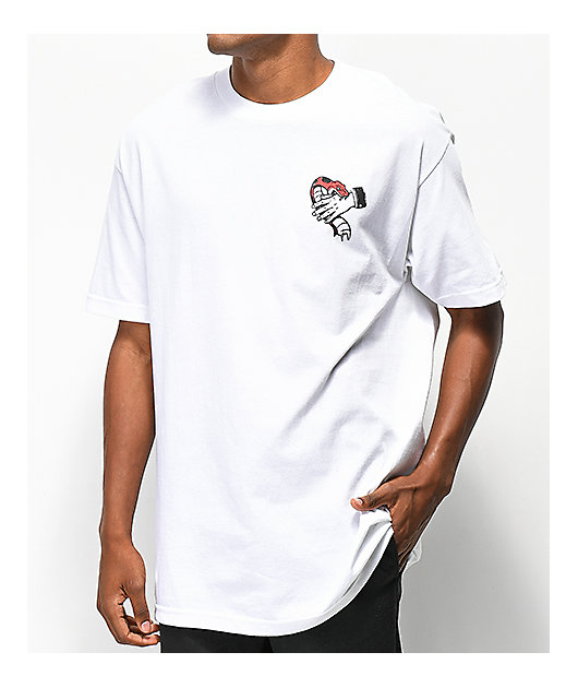 Empyre Hand That Feeds White T-Shirt
