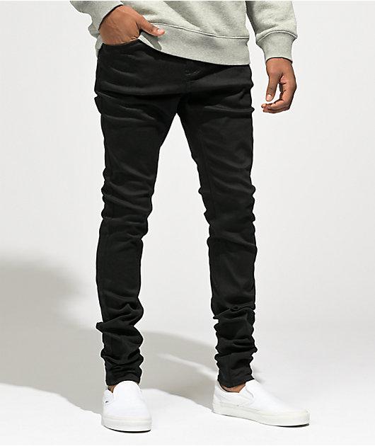 Empyre Havoc EXT Stretch Black Super Skinny Jeans