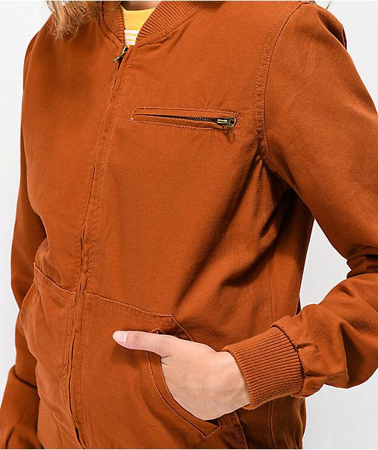Empyre Hazelle Brown Bomber Jacket