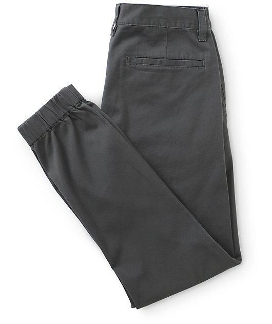 Empyre Jag Charcoal Twill Jogger Pants