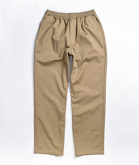 Empyre Johnny Beige Elastic Waist Pants