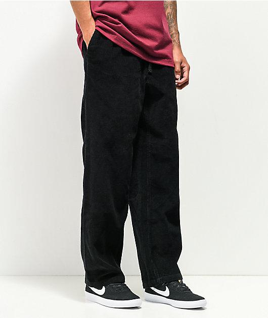 Empyre Johnny Black Skate Corduroy Pants