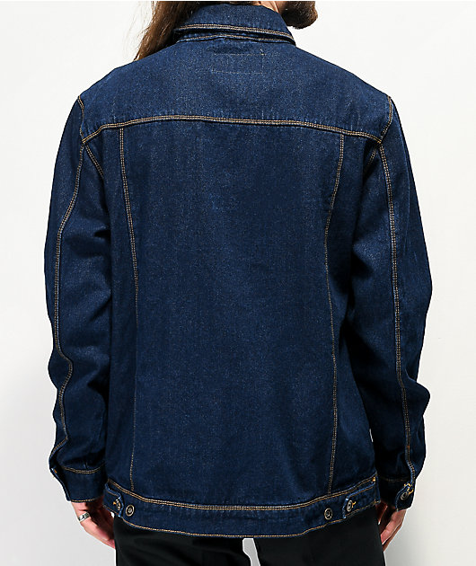 Empyre Jorden Raw Blue Denim Jacket
