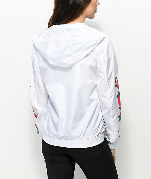 Empyre Keana Rose chaqueta cortavientos en blanco