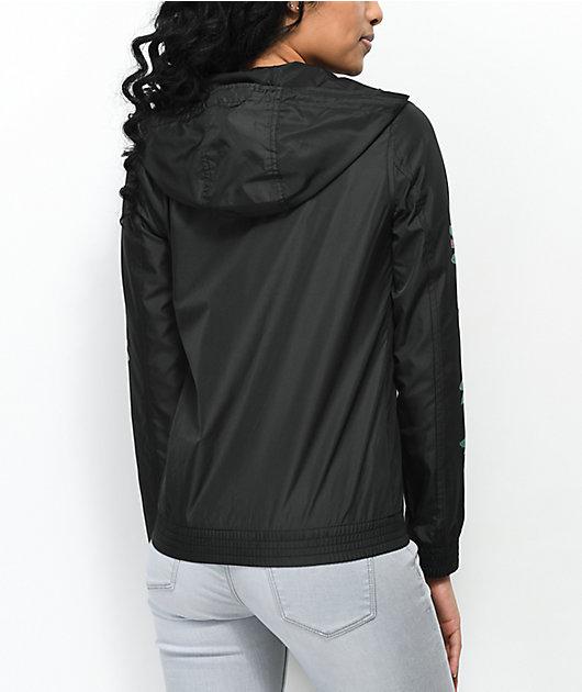 Empyre Keana Rose chaqueta cortavientos en negro
