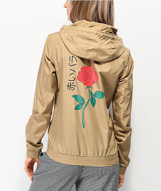 Empyre Keana Rose chaqueta cortavientos marrón