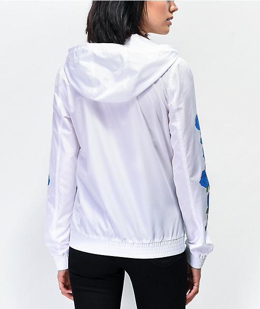 Empyre Keana chaqueta cortavientos blanca