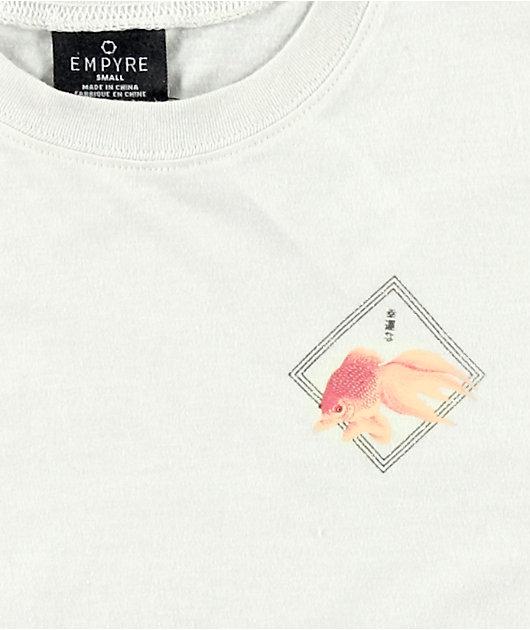 Empyre Kipsy Koi Fish Pong Neutral Crop T-Shirt