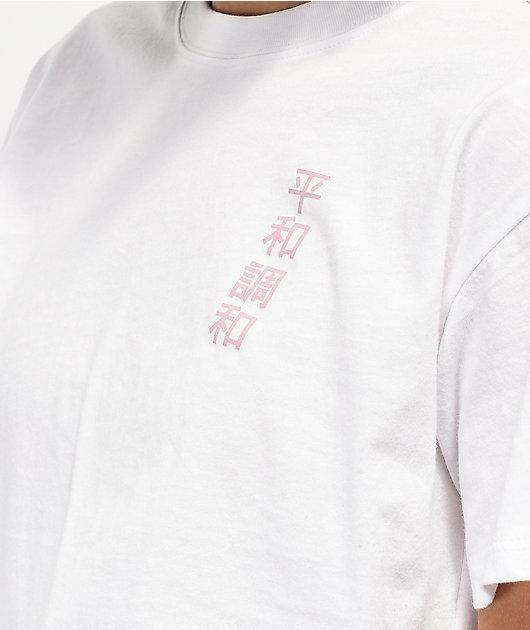 Empyre Kipsy Taping White Crop T-Shirt