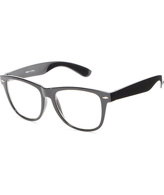 Empyre Lenny Black Clear Glasses