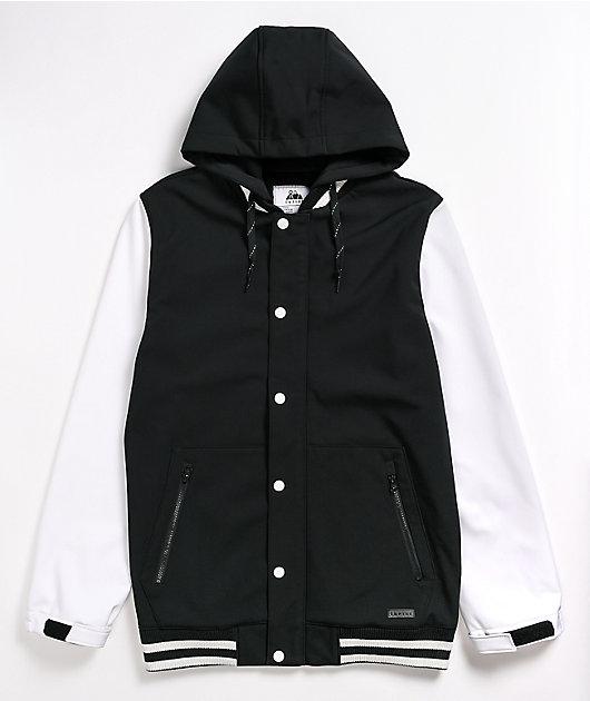 Empyre Lily Express White & Black 10K Snowboard Jacket