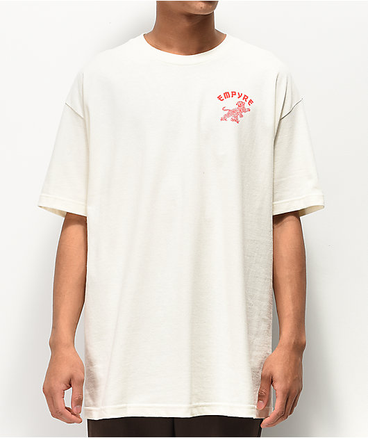 Empyre Living In Paradize Cream T-Shirt