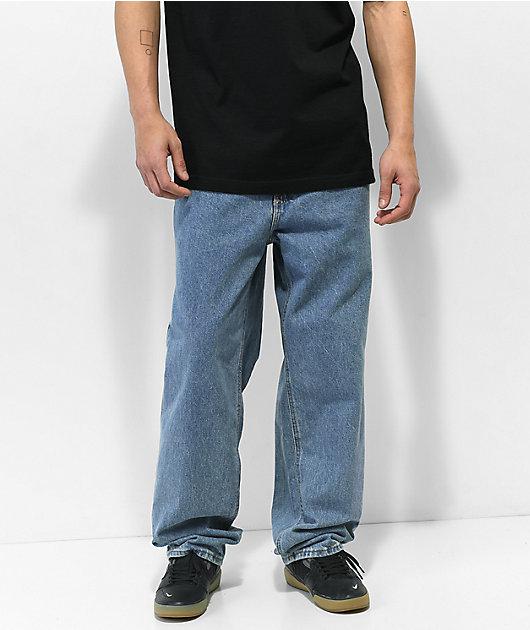 Empyre Loose Fit Medium Wash Skate Jeans