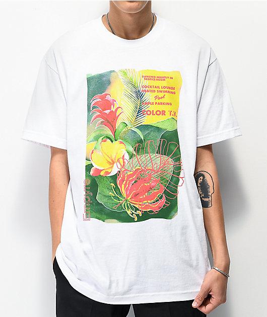 Empyre Lounging camiseta blanca