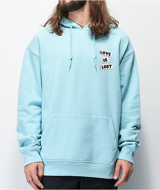 Empyre Love Is Lost sudadera con capucha azul claro