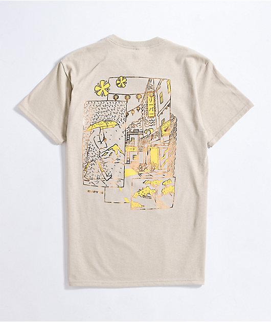 Empyre Midnight Stroll Natural White T-Shirt