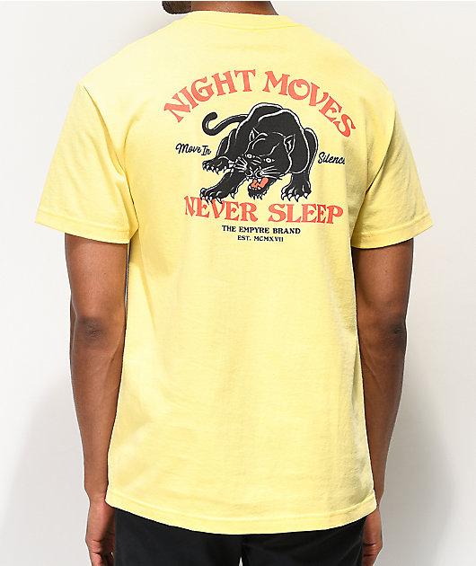 Empyre Night Moves Light Yellow T-Shirt
