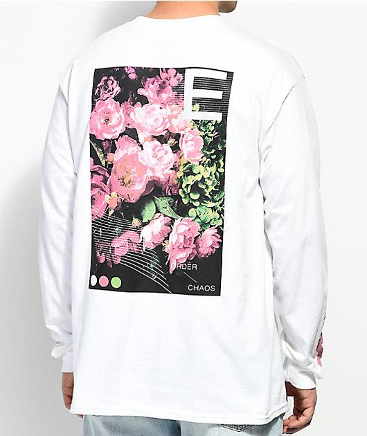 Empyre Order & Chaos White Long Sleeve T-Shirt