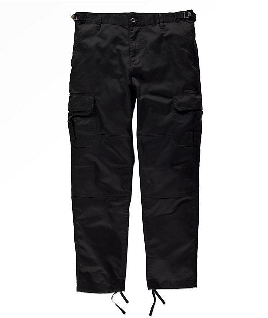 Empyre Orders Black Cargo Pants