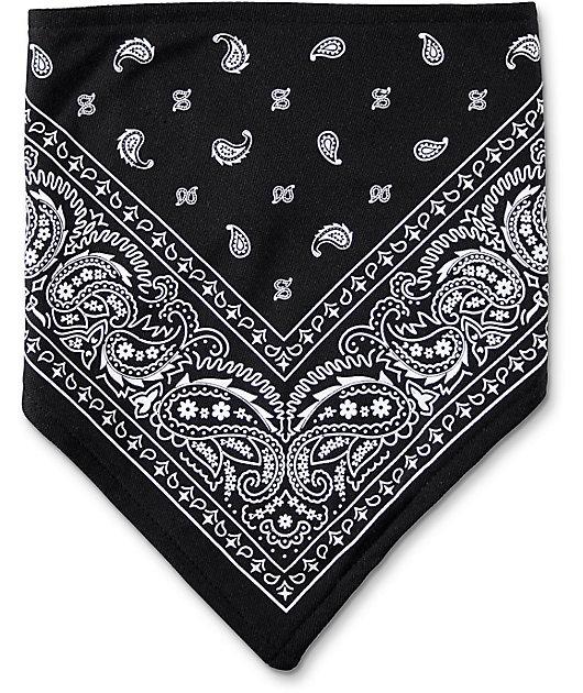 Empyre Paisley Black & White Facemask
