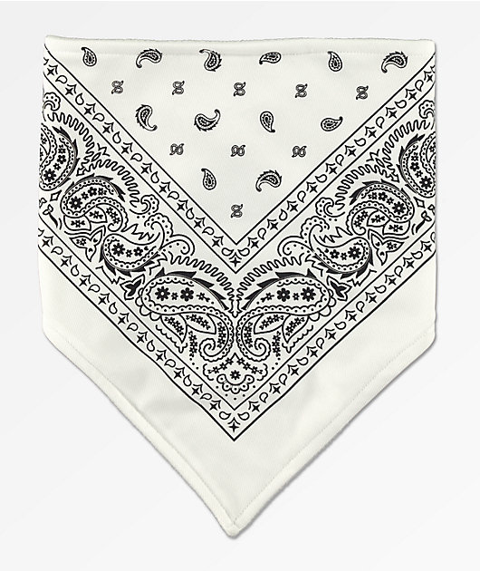 Empyre Paisley White & Black Face Cover