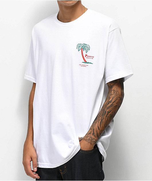 Empyre Paradise Club camiseta blanca