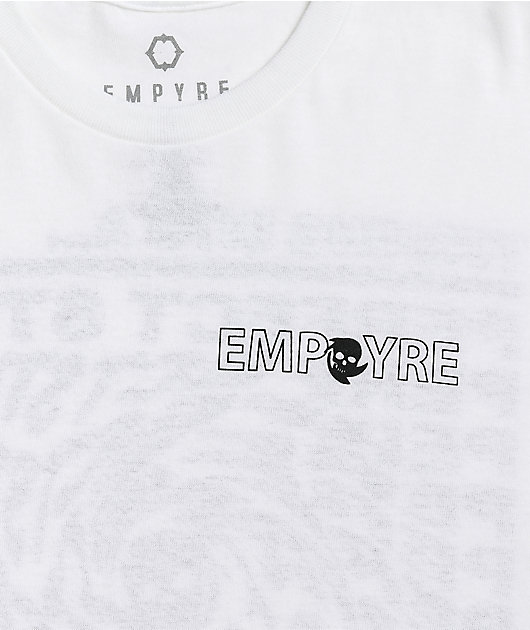 Empyre Perfect Storm White T-Shirt