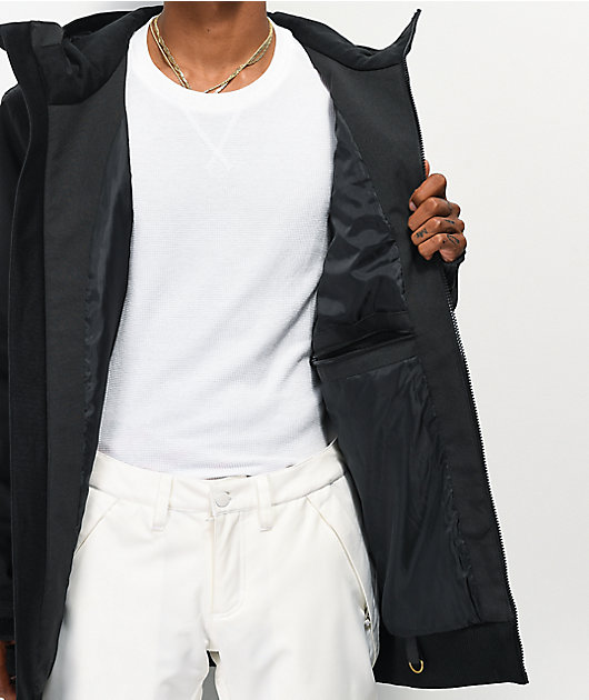 Empyre Rambler Black 10K Snowboard Jacket
