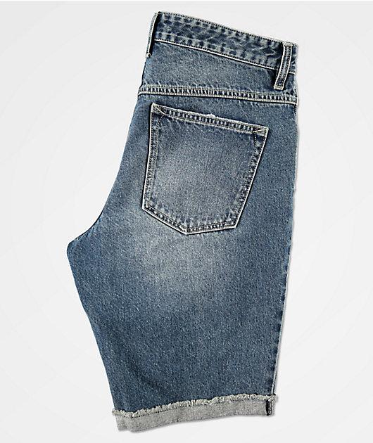 Empyre Richmond Blue Denim Shorts