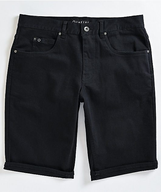 Empyre Richmond EXT Black Denim Shorts