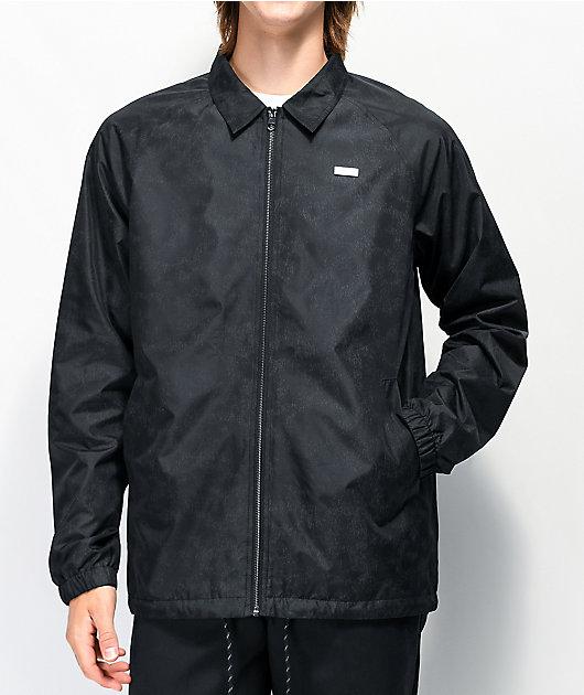 Empyre Shawn Black Coaches Jacket